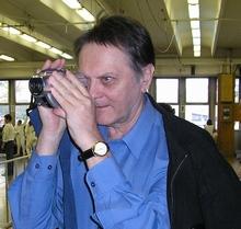 Gaál Csaba kamerával