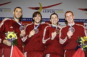 A férfi pbt bajnokcsapat - EB-Lipcse2010'